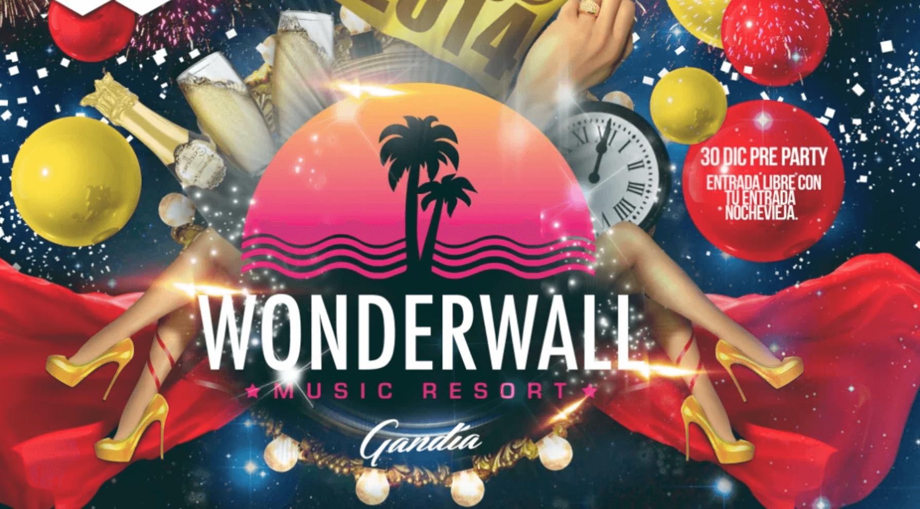 Nochevieja 2014 – Wonderwall Gandia – By Rec Studios